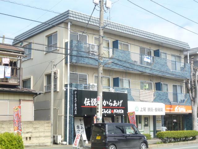 埼玉県上尾市、上尾駅徒歩20分の築36年 3階建の賃貸マンション