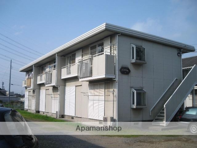 埼玉県桶川市、桶川駅徒歩25分の築27年 2階建の賃貸アパート