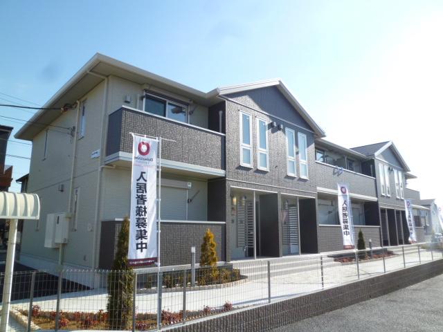 埼玉県北足立郡伊奈町、丸山駅徒歩22分の築4年 2階建の賃貸アパート