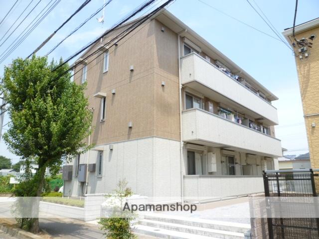 埼玉県桶川市、北上尾駅徒歩10分の築4年 3階建の賃貸アパート