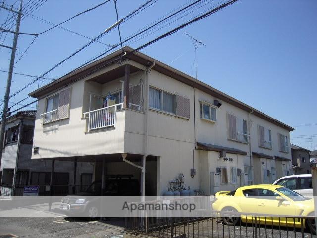 埼玉県鴻巣市、桶川駅徒歩56分の築24年 2階建の賃貸テラスハウス