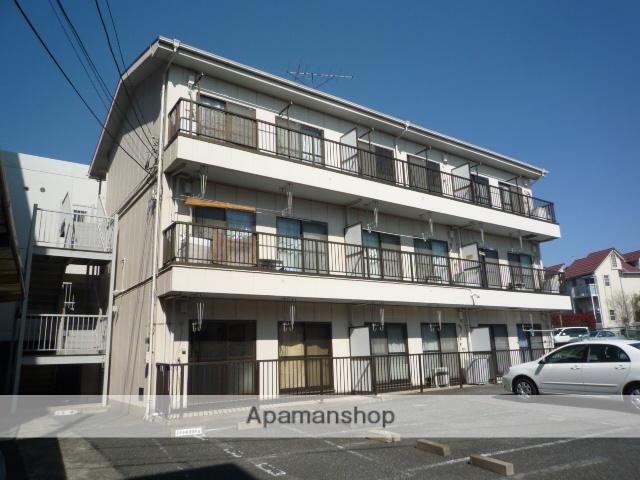 埼玉県上尾市、宮原駅徒歩45分の築27年 3階建の賃貸マンション