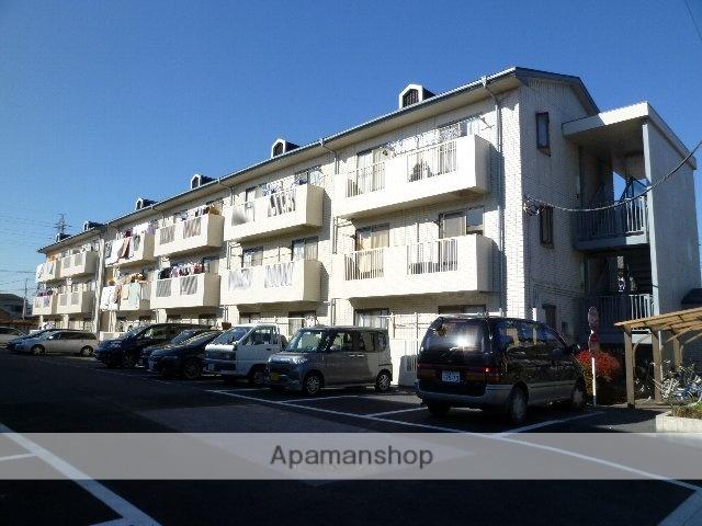 埼玉県桶川市、北上尾駅徒歩38分の築27年 3階建の賃貸アパート
