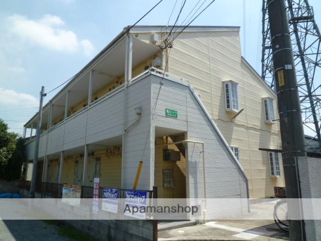 埼玉県桶川市、桶川駅徒歩13分の築28年 2階建の賃貸アパート