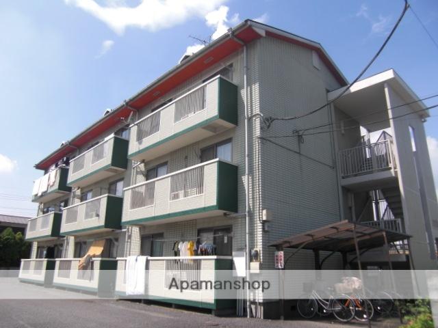 埼玉県上尾市、上尾駅徒歩8分の築27年 3階建の賃貸マンション