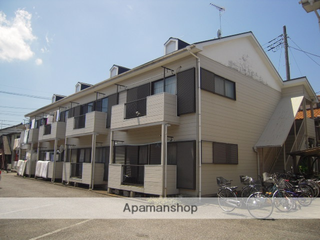 埼玉県桶川市、桶川駅徒歩7分の築28年 2階建の賃貸アパート