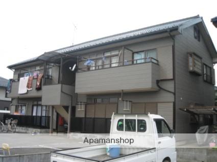 埼玉県桶川市、桶川駅徒歩18分の築25年 2階建の賃貸アパート