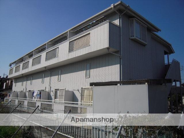 埼玉県北本市、桶川駅徒歩45分の築22年 2階建の賃貸アパート