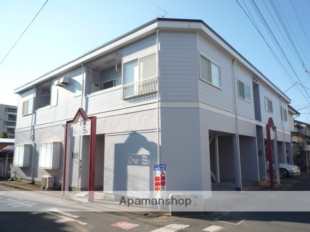 埼玉県上尾市、上尾駅徒歩18分の築27年 2階建の賃貸アパート