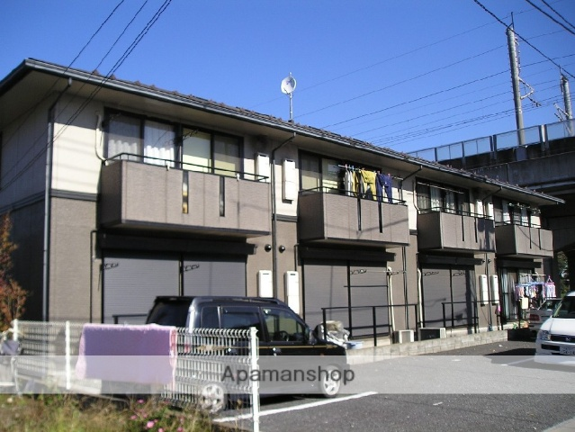 埼玉県北足立郡伊奈町、志久駅徒歩10分の築22年 2階建の賃貸アパート