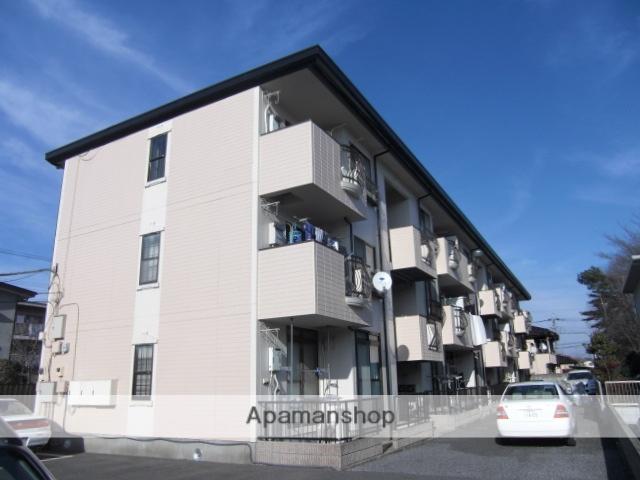 埼玉県上尾市、上尾駅徒歩17分の築26年 3階建の賃貸アパート