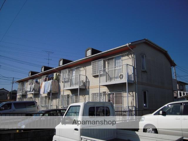 埼玉県上尾市、北上尾駅徒歩13分の築25年 2階建の賃貸アパート