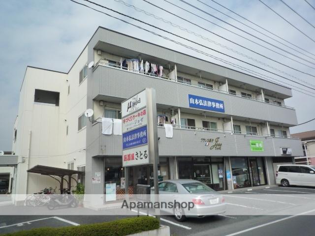 埼玉県上尾市、北上尾駅徒歩5分の築23年 3階建の賃貸マンション