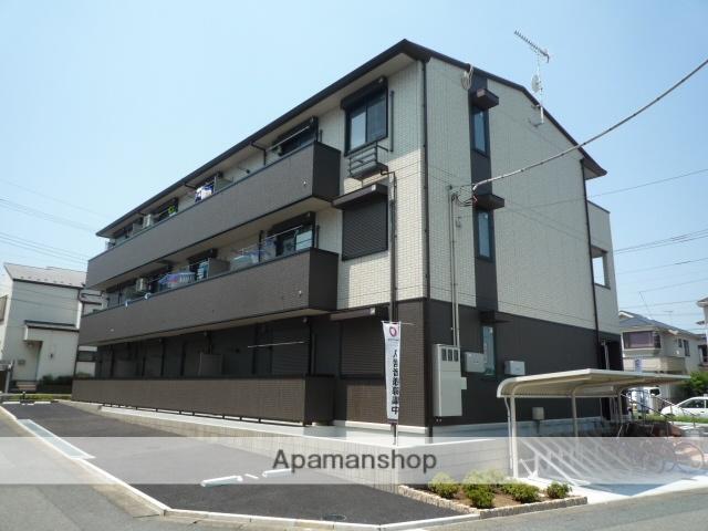 埼玉県北本市、桶川駅徒歩67分の築2年 3階建の賃貸アパート
