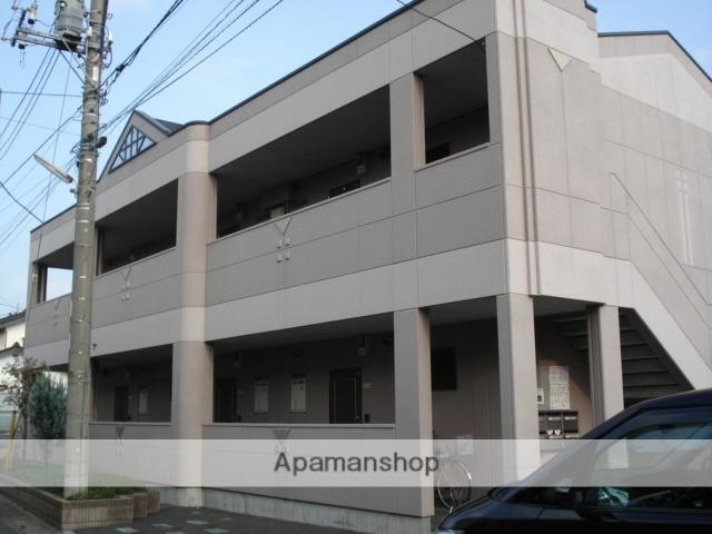 埼玉県北足立郡伊奈町、志久駅徒歩15分の築13年 2階建の賃貸アパート