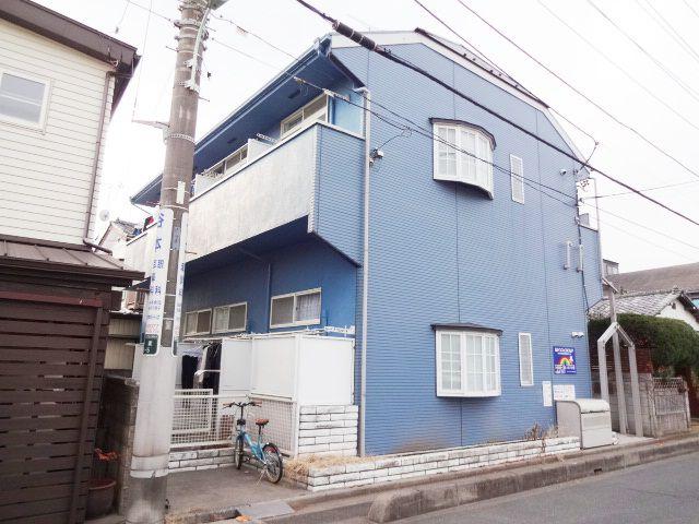 埼玉県さいたま市浦和区、与野駅バス8分本太中学下車後徒歩2分の築24年 2階建の賃貸アパート