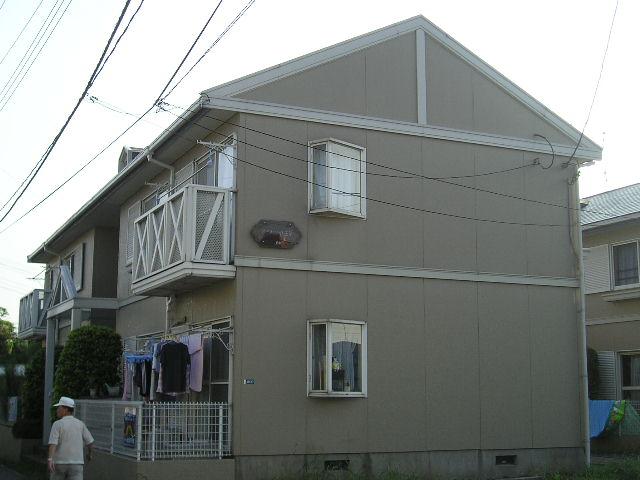 埼玉県さいたま市中央区、与野本町駅徒歩17分の築23年 2階建の賃貸アパート