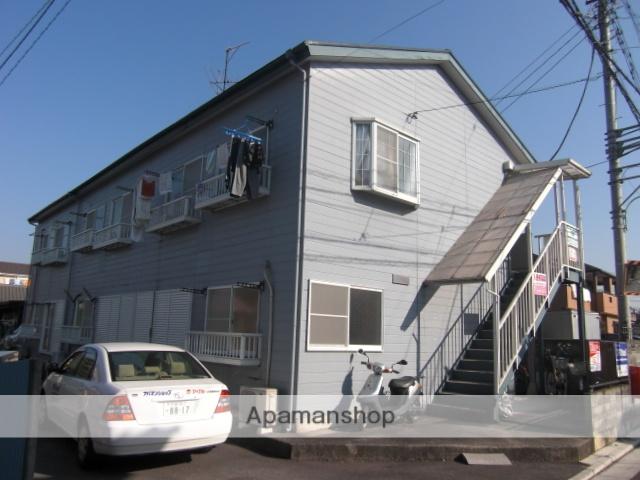 埼玉県さいたま市桜区、中浦和駅徒歩38分の築22年 2階建の賃貸アパート