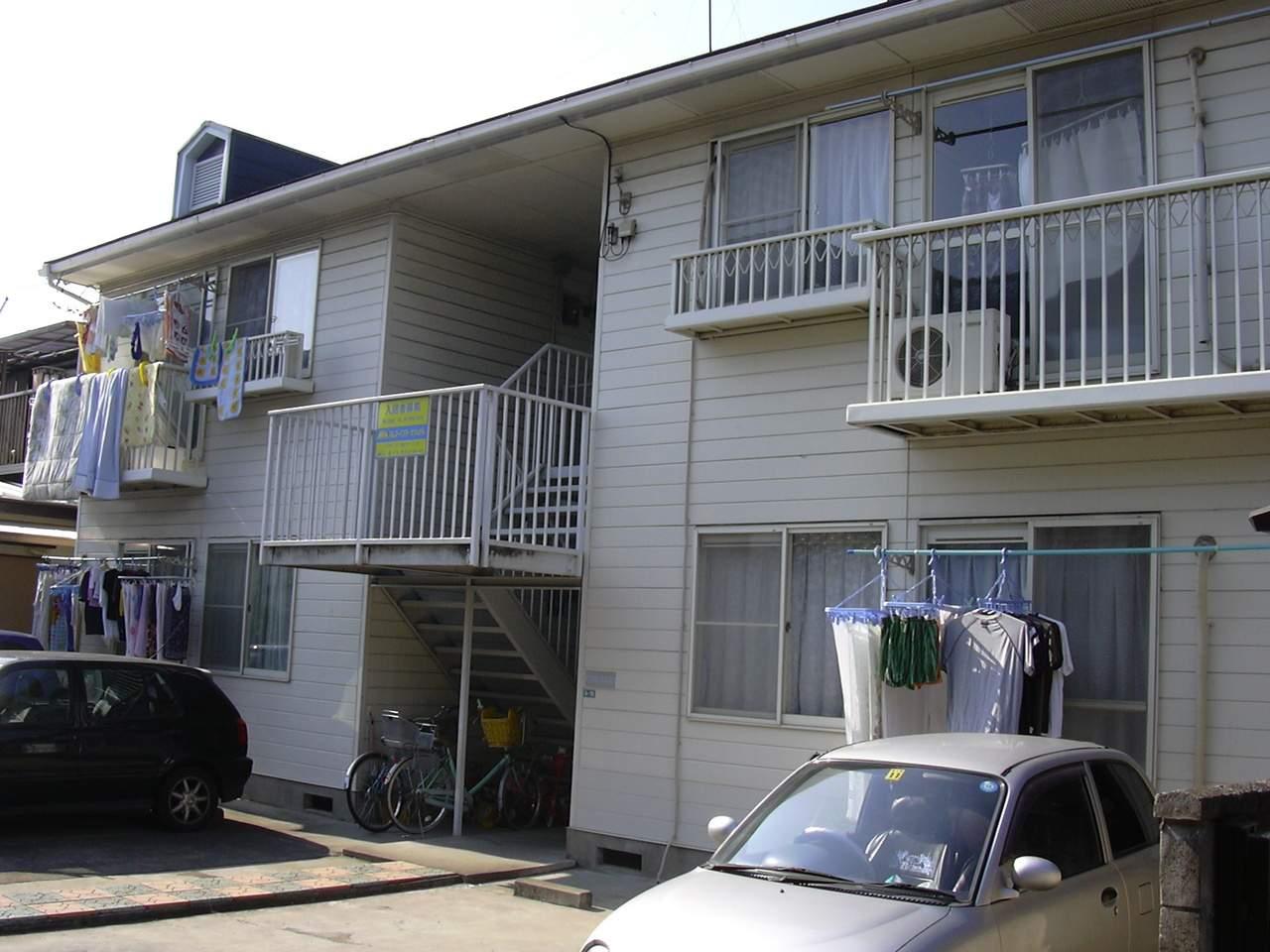埼玉県さいたま市南区、北浦和駅バス8分太田窪下車後徒歩19分の築29年 2階建の賃貸アパート