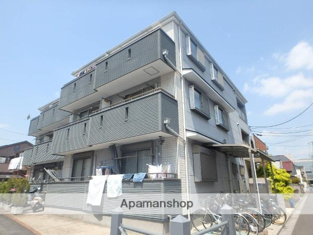 埼玉県さいたま市南区、北戸田駅徒歩24分の築9年 3階建の賃貸アパート