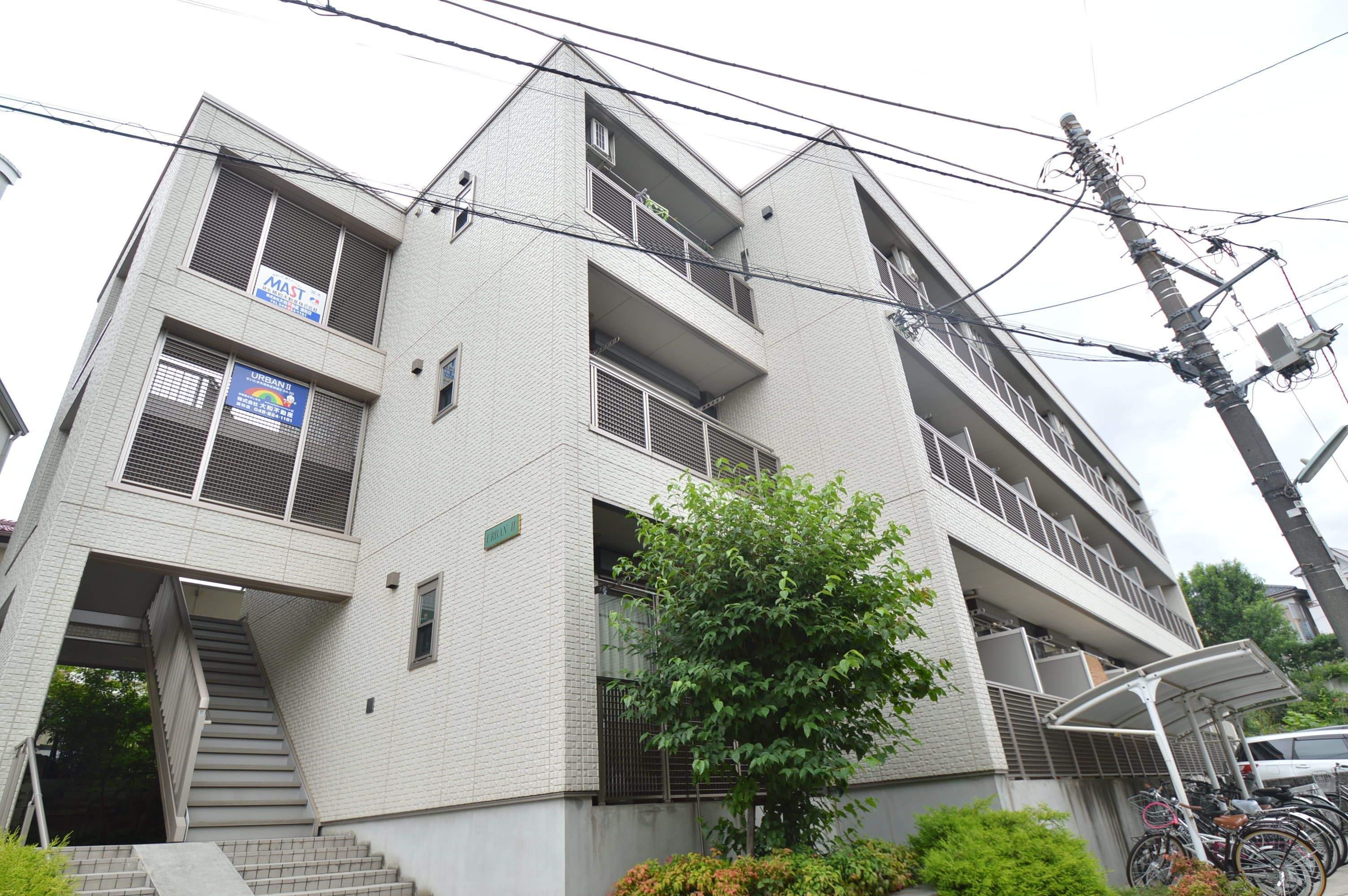 埼玉県さいたま市浦和区、武蔵浦和駅徒歩14分の築9年 3階建の賃貸マンション