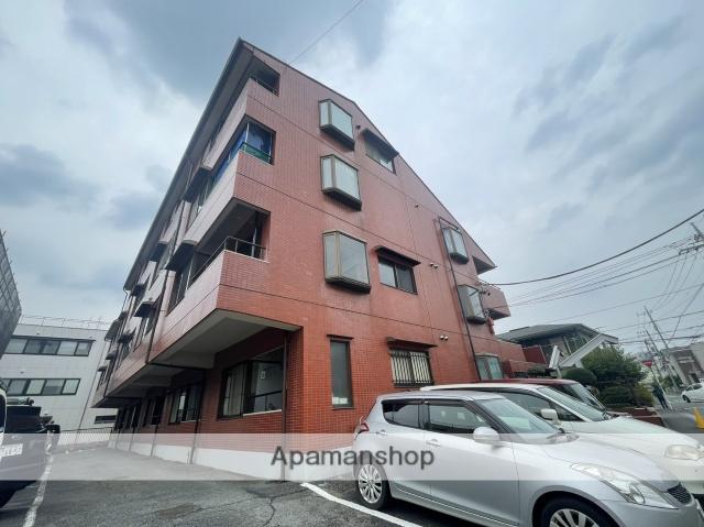 埼玉県さいたま市南区、武蔵浦和駅徒歩18分の築27年 4階建の賃貸マンション