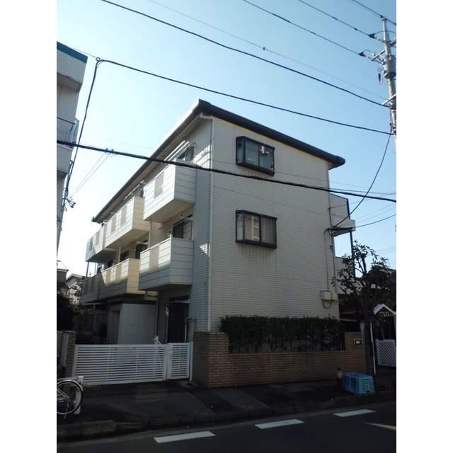 埼玉県蕨市、戸田公園駅徒歩19分の築26年 3階建の賃貸アパート