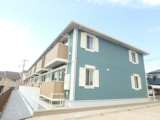埼玉県さいたま市南区、南浦和駅徒歩32分の新築 2階建の賃貸アパート