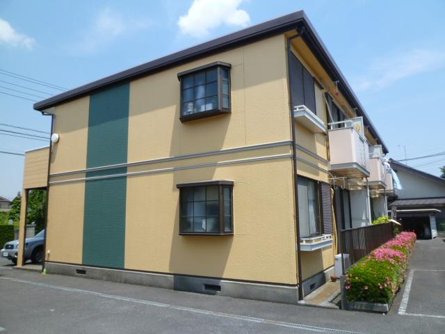 埼玉県川口市、東浦和駅徒歩15分の築28年 2階建の賃貸アパート