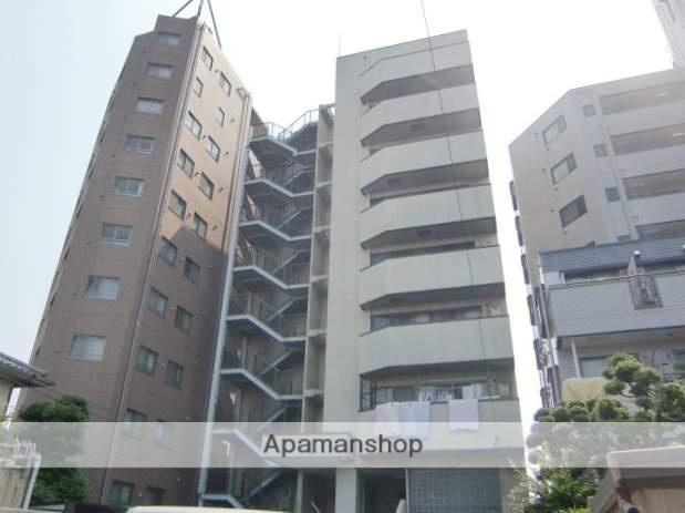 埼玉県さいたま市浦和区、与野駅徒歩26分の築25年 9階建の賃貸マンション