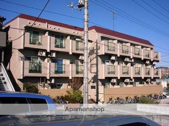埼玉県川口市、東浦和駅徒歩7分の築35年 3階建の賃貸マンション
