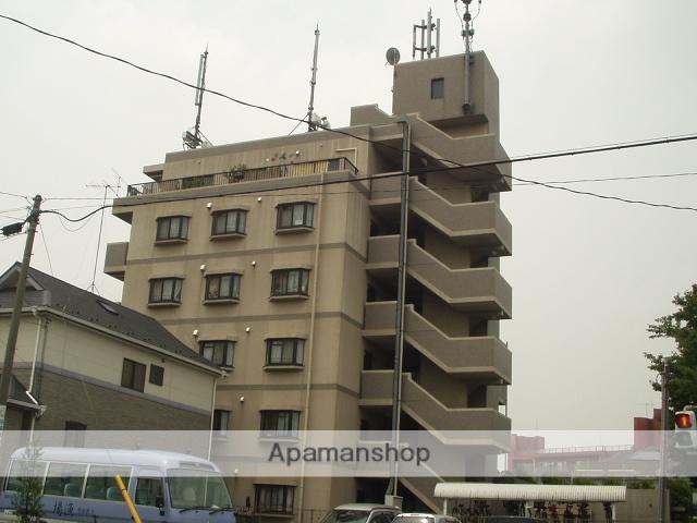 埼玉県川口市、東浦和駅徒歩15分の築20年 6階建の賃貸マンション