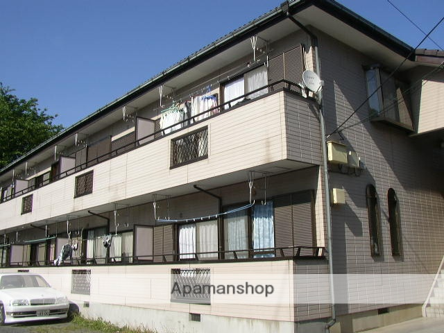 埼玉県さいたま市浦和区、武蔵浦和駅徒歩17分の築21年 2階建の賃貸アパート