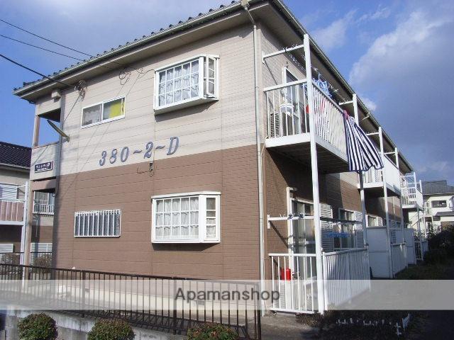 埼玉県川口市、東川口駅バス10分西原下車後徒歩5分の築24年 2階建の賃貸アパート
