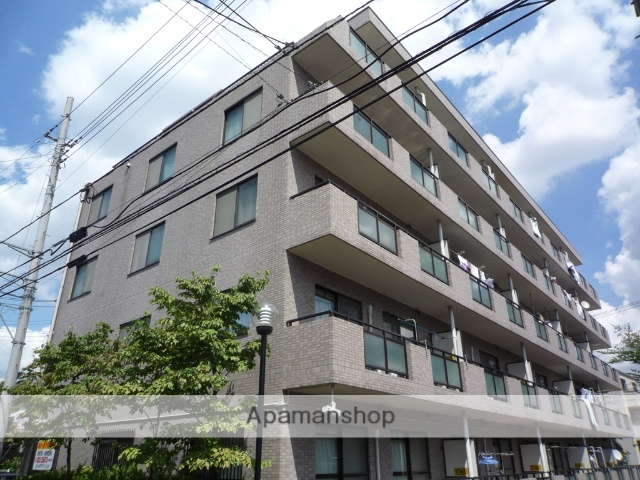 埼玉県さいたま市南区、武蔵浦和駅徒歩5分の築22年 5階建の賃貸マンション