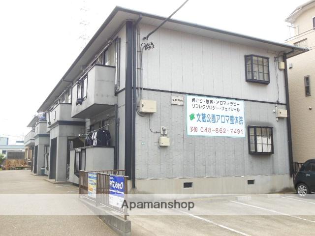 埼玉県さいたま市南区、北戸田駅徒歩21分の築24年 2階建の賃貸アパート