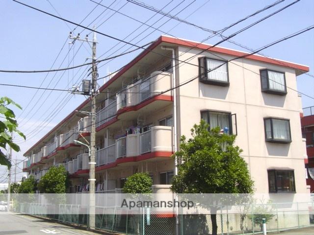 埼玉県川口市、南浦和駅徒歩25分の築30年 3階建の賃貸マンション
