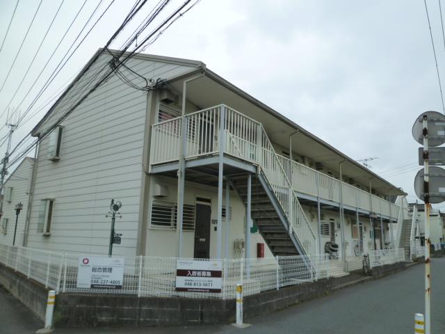 埼玉県川口市、東浦和駅徒歩12分の築24年 2階建の賃貸アパート