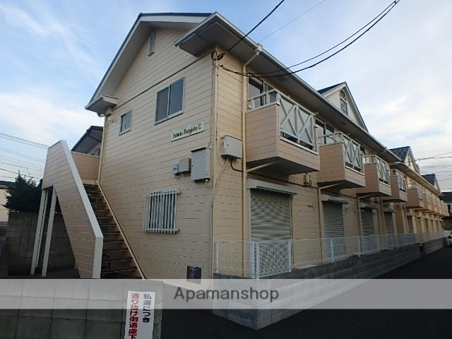 埼玉県さいたま市北区、日進駅徒歩18分の築28年 2階建の賃貸アパート