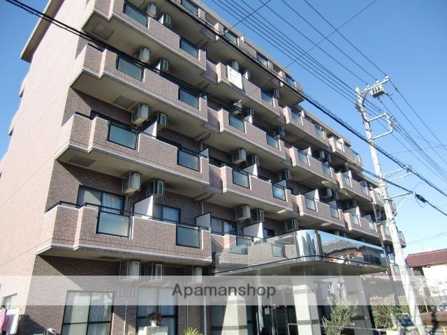 埼玉県さいたま市大宮区、北与野駅徒歩28分の築18年 6階建の賃貸マンション