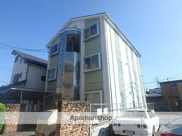 埼玉県川口市、南鳩ヶ谷駅徒歩20分の築17年 3階建の賃貸マンション