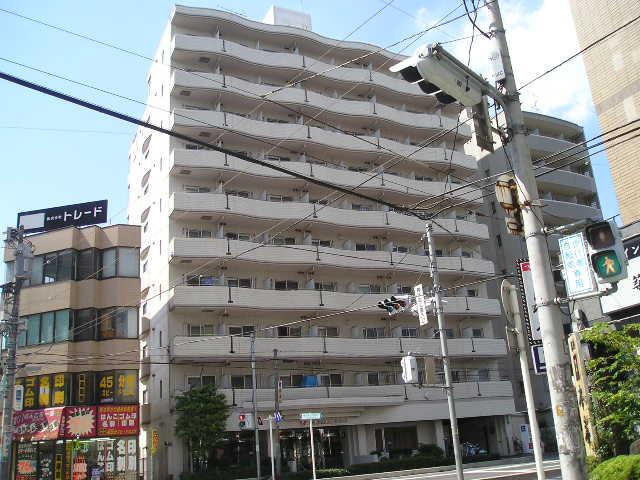埼玉県川口市、蕨駅徒歩28分の築27年 10階建の賃貸マンション