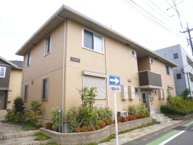 埼玉県川口市、南鳩ヶ谷駅徒歩14分の築6年 2階建の賃貸アパート