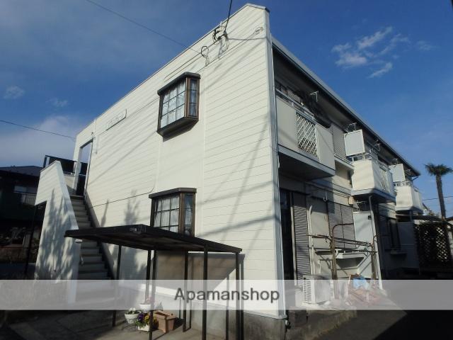 埼玉県川口市、鳩ヶ谷駅徒歩10分の築28年 2階建の賃貸アパート
