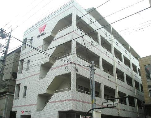 埼玉県川口市、川口駅徒歩15分の築26年 5階建の賃貸マンション