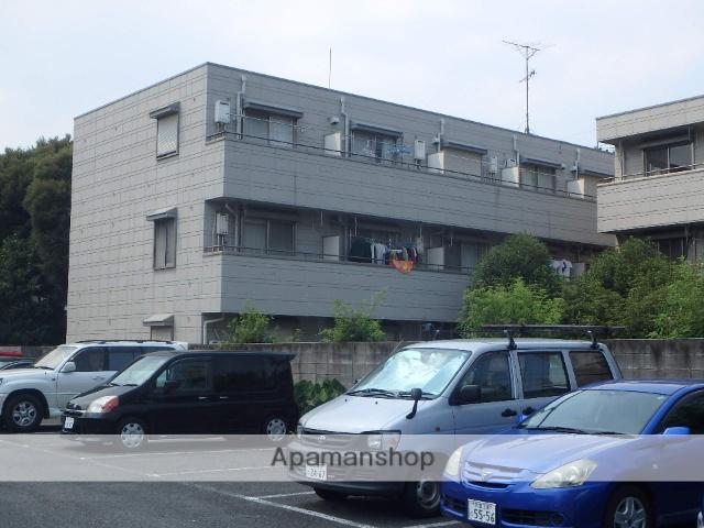 埼玉県川口市、川口駅徒歩13分の築25年 3階建の賃貸マンション