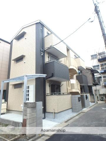 埼玉県川口市、西川口駅徒歩10分の新築 3階建の賃貸アパート