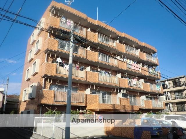埼玉県川口市、蕨駅徒歩30分の築28年 5階建の賃貸マンション