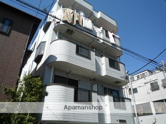 埼玉県川口市、鳩ヶ谷駅徒歩6分の築24年 4階建の賃貸マンション