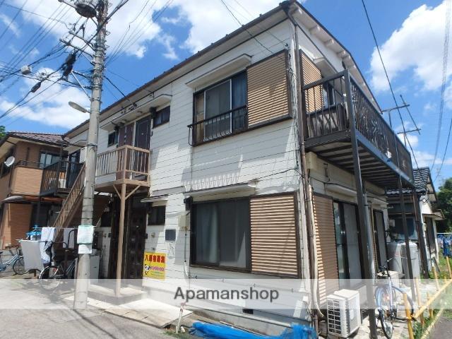 埼玉県川口市、南鳩ヶ谷駅徒歩16分の築32年 2階建の賃貸アパート
